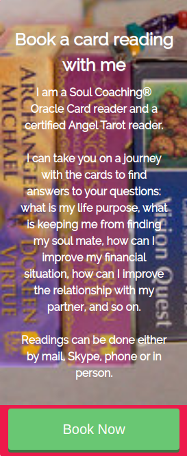 Book a card reading with Jyothi